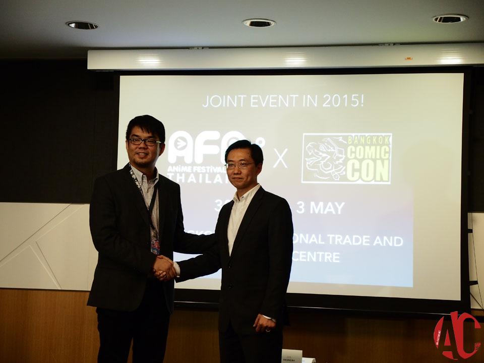 AFA SG 2014: AFA X Bangkok Comic Con